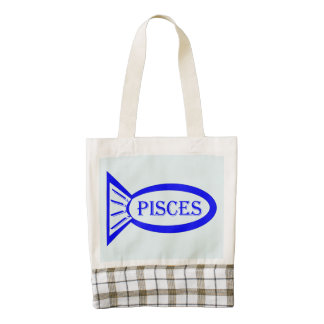 Pisces Star Sign Fish Tote Bag