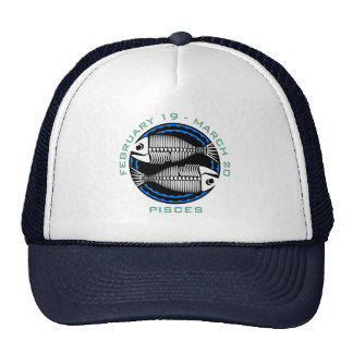 Pisces T-shirts and Gifts Trucker Hat