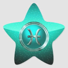 Pisces | The Fish Astrological Glyph Star Sticker