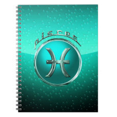 Pisces | The Fish Astrological Sign Spiral Notebook