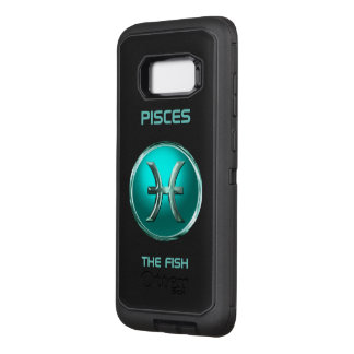 Pisces - The Fish Horoscope Sign OtterBox Defender Samsung Galaxy S8+ Case