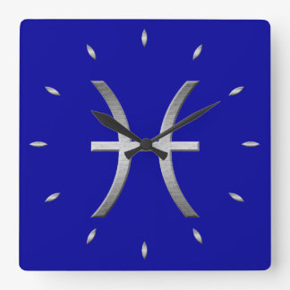 pisces time square wall clock
