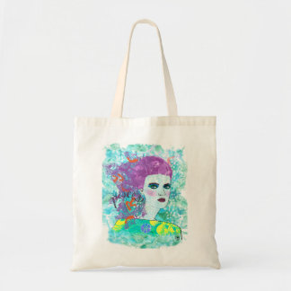 Pisces Tote Canvas Bags
