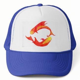 'Pisces' Trucker Hat hat