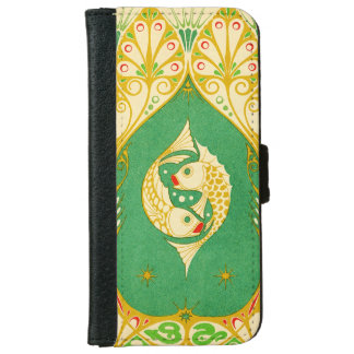 Pisces Wallet Phone Case For iPhone 6/6s
