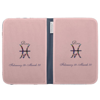 Pisces Zodiac-Colorful Sign Kindle 3 Cases