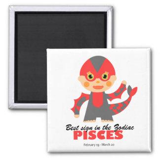 Pisces Zodiac for kids Magnet