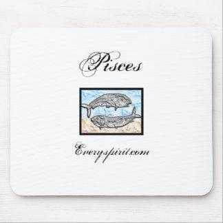 Pisces Zodiac Items Mouse Pad