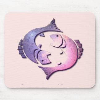Pisces Zodiac Mouse Pad