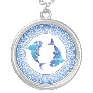 Pisces Zodiac Pendant Necklace
