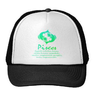 Pisces Zodiac Shirt Trucker Hat