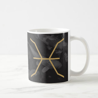 Pisces Zodiac Sign | Custom Background Coffee Mug