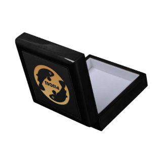 Pisces Zodiac Sign Jewelry Boxes
