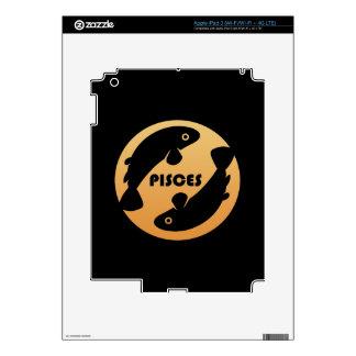 Pisces Zodiac Sign iPad 3 Decals