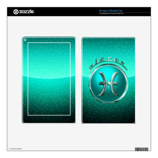 Pisces Zodiac Sign Kindle Fire Skin