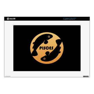 Pisces Zodiac Sign Laptop Decal