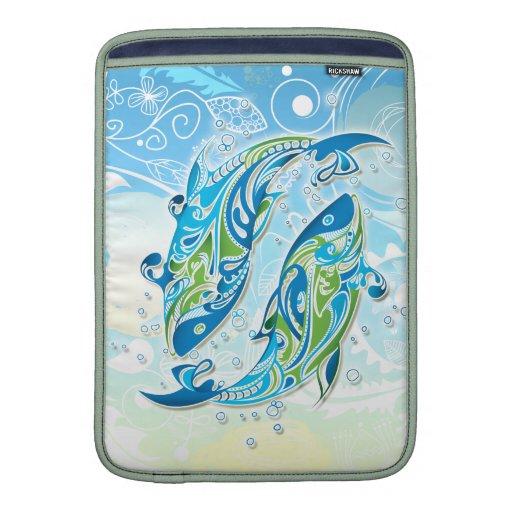 Pisces Zodiac Sign MacBook Sleeves