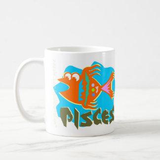 Pisces Zodiac Sign Mugs