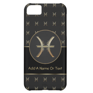 Pisces Zodiac Sign Personalized iPhone 5C Cover