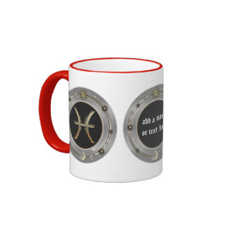 Pisces Zodiac Sign Personalized Mugs