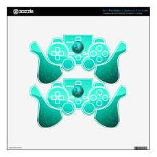 Pisces Zodiac Sign PS3 Controller Skin