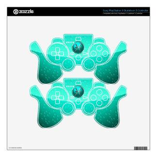 Pisces Zodiac Sign PS3 Controller Skin