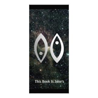 Pisces Zodiac Star Sign Universe Bookmark Rack Card
