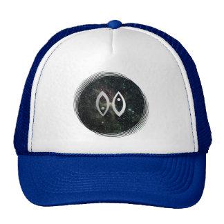 Pisces Zodiac Star Sign Universe Trucker Hat