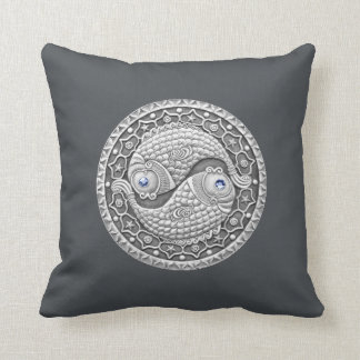 "Pisces Zodiac Throw Pillow 16"" x 16"""