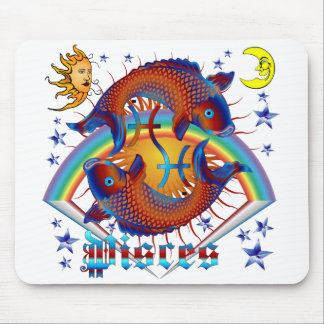 Pisces-Zodiac-V-1 Mouse Pad