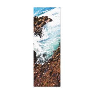 Piscina 3 de la marea impresiones en lona estiradas