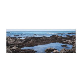 Piscina 4 de la marea impresión de lienzo