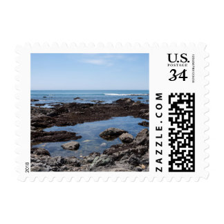 Piscina 4 de la marea timbres postales