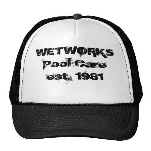 Piscina Careest de WETWORKS. 1981 Gorras De Camionero