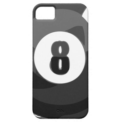 Piscina de 8 bolas iPhone 5 cárcasa