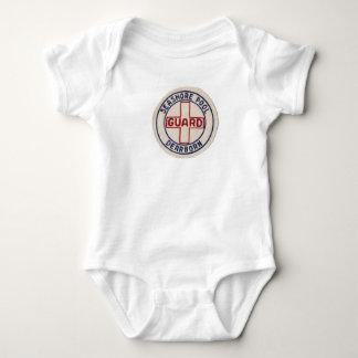 Piscina de la costa del vintage - ropa del body para bebé