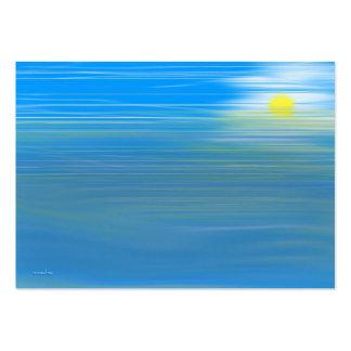 Piscina de la marea tarjetas de visita grandes