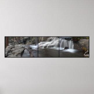 Piscina de las caídas el lago Tahoe, CA de Eagle d Posters