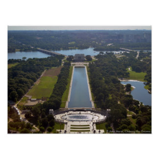 piscina de reflejo de Washington Monument.jpg Póster