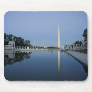 Piscina de reflejo, monumento de Washington Alfombrillas De Raton