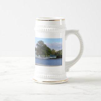 Piscina de reflejo taza