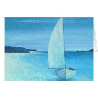 Piscina de St Helens, islas de Scilly Tarjeta De Felicitación