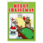 Piscina del navidad tarjetas