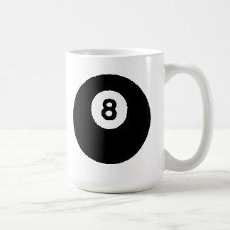 Piscina del Ocho-Ball Taza Básica Blanca