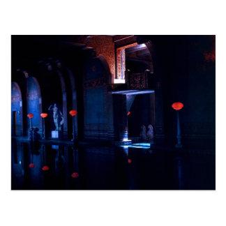 Piscina en la luz - versión 2 tarjeta postal