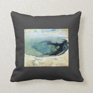 Piscina esmeralda 2 de John Henry Twachtman- Almohadas