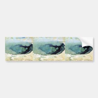 Piscina esmeralda 2 de John Henry Twachtman- Pegatina De Parachoque