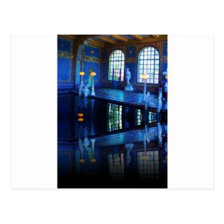 Piscina interior del castillo de Hearst de la imag Postales