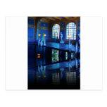 Piscina interior del castillo de Hearst de la Postales