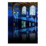 Piscina interior del castillo de Hearst de la Tarjeta Postal